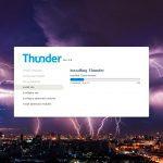 Instalar Thunder CMS